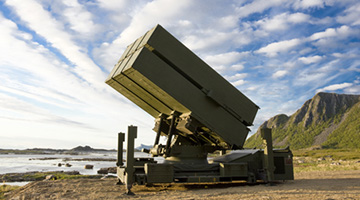 NASAMS Surface to Air Missile System