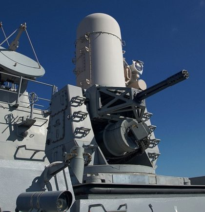 Phalanx Close In Weapons System (CIWS)
