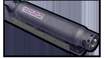 Nitrogen Cooling Bottle for IR Seeker